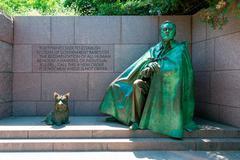 Franklin Delano Roosevelt Memorial Washington Kuvituskuvat