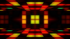 Disco Room Colors 02 Stock Footage