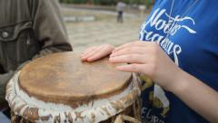 Musicians Play Brazilian Musical Instruments Stock Footage