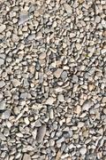 Road stone gravel texture to background - stock photo