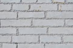 Stock Photo of texture of the new accurate gray brick wall