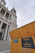 Museo de la Catedral de la Almudena y Subiba a la Cupula, Madrid, Spain - stock photo