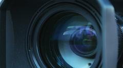 Camera zoom Stock Footage