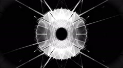 Lighting threads Vj Loop - stock footage