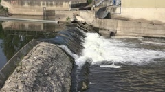 Water Dam Stock Footage