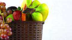 Fruits All Together Stock Footage