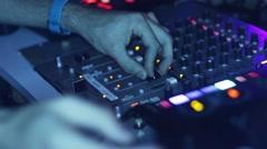 DJ Decks Stock Footage