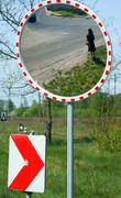 Mirror for security and traffic safety Kuvituskuvat