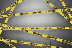 Strips of caution Stock Photos