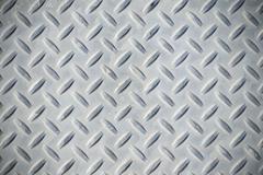 Diamondplate background - stock photo