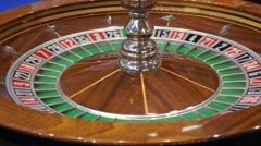 Roulette casino Stock Footage