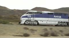 AMTRAK TRAIN Stock Footage