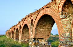 Aqueduct - stock photo
