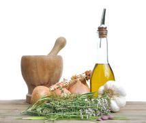 ingredient for seasoning - stock photo