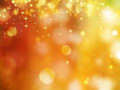 Stock Illustration of Glittery golden festive background