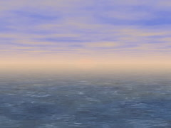 Landscape generated seamless loop video, 640x480 Stock Footage
