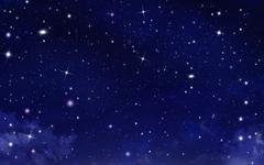 starry sky, background - stock illustration