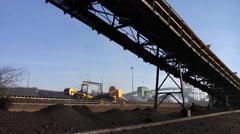 Mining - Conveyor3 - stock footage