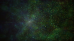 Space ball particle abstract 4k Stock Footage
