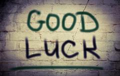 Good Luck Concept - stock illustration