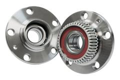 Hub bearing wheel of a car - stock photo