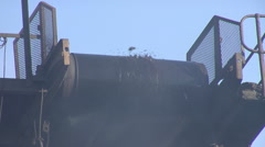 Coal Stacker - stock footage