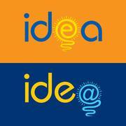 Light bulb make idea text concept stock vector Stock Illustration
