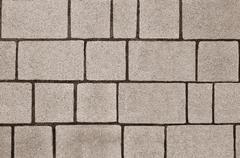 Block paving texture Stock Photos