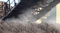 Coal Stacker Stock Footage
