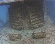 Cuba Atlantic Ocean Russian Fregate, 0258 Stock Footage