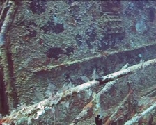Cuba Atlantic Ocean Russian Fregate, 0237 Stock Footage