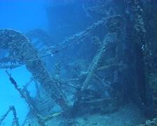 Cuba Atlantic Ocean Russian Fregate, 0254 Stock Footage