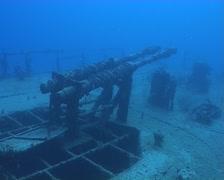 Cuba Atlantic Ocean Russian Fregate, 0256 Stock Footage