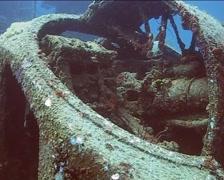 Cuba Atlantic Ocean Russian Fregate, 0241 Stock Footage