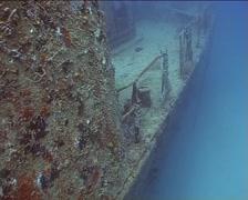 Cuba Atlantic Ocean Russian Fregate, 0239 Stock Footage