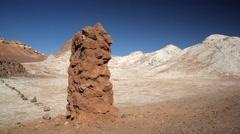 Valle de la Luna -Valley of the Moon- Desert of Atacama - stock footage