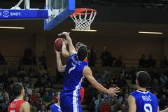 Stock Photo of basketball game