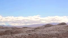 Valle de la Luna -Valley of the Moon- Desert of Atacama Stock Footage