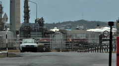 Oil refinery Curacao | Isla Raffinaderij Stock Footage