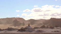 Valle de la Luna -Valley of the Moon- Desert of Atacama Stock Footage