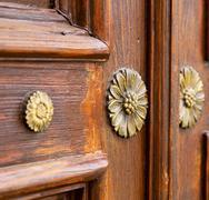 Abstract    closed wood door crenna gallarate varese italy Kuvituskuvat