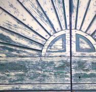 Abstract   closed wood door   varese italy sumirago Kuvituskuvat