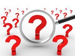 FAQ search - stock illustration