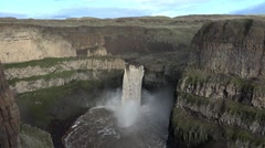 Palouse Falls, Washington state Stock Footage