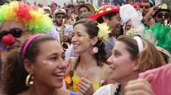 Street Carnival of Rio de Janeiro # 13 Stock Footage