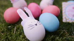 Easter Eggs Stock Footage