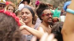Street Carnival of Rio de Janeiro # 08 Stock Footage