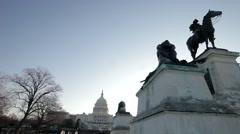 Ulysses S Grant Memorial Stock Footage