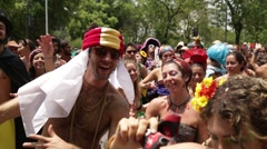 Street Carnival of Rio de Janeiro # 02 Stock Footage