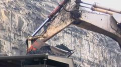 Mining - Truck Loading4 Stock Footage